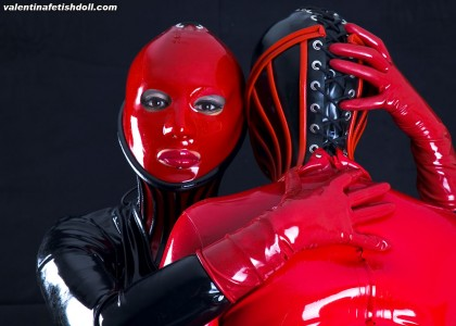 Sample rubber fetish